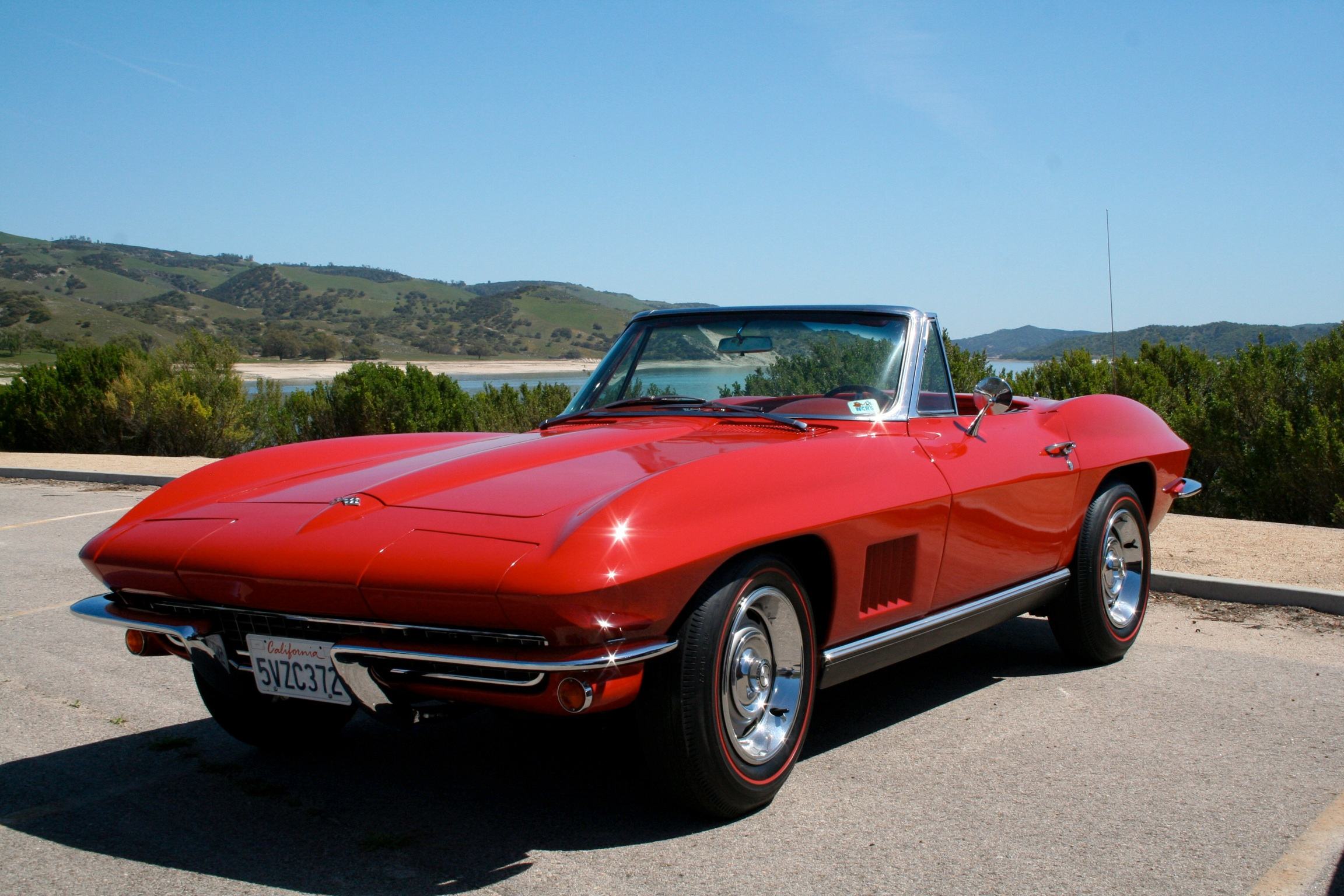 Ron Bartow's '67 convertible.