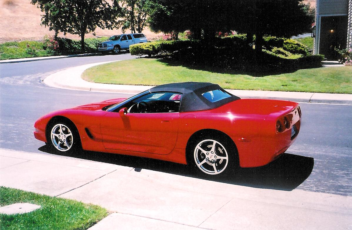 Gary Miranda's Corvette