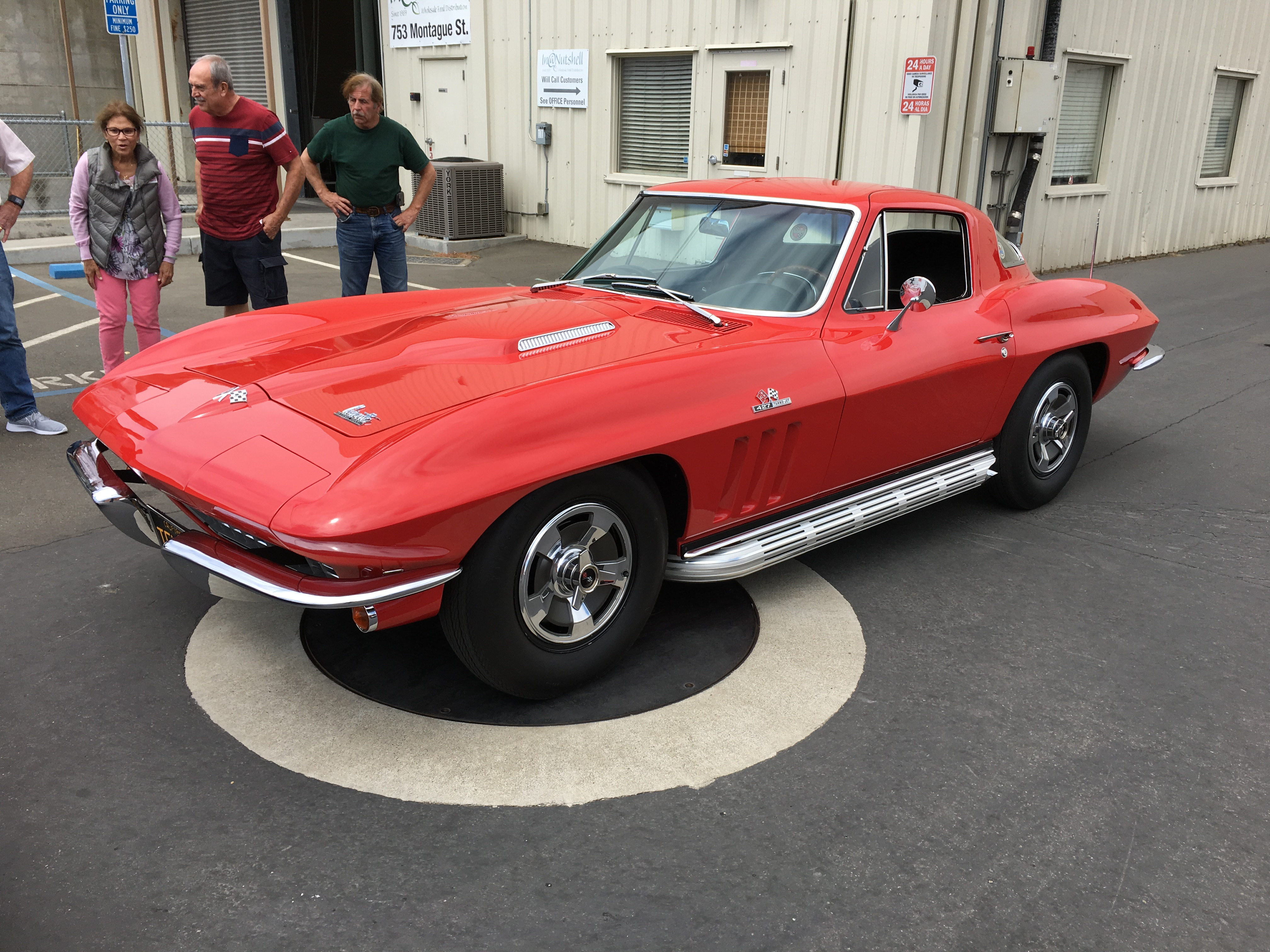 Ray Muscat's BB '66 Corvette