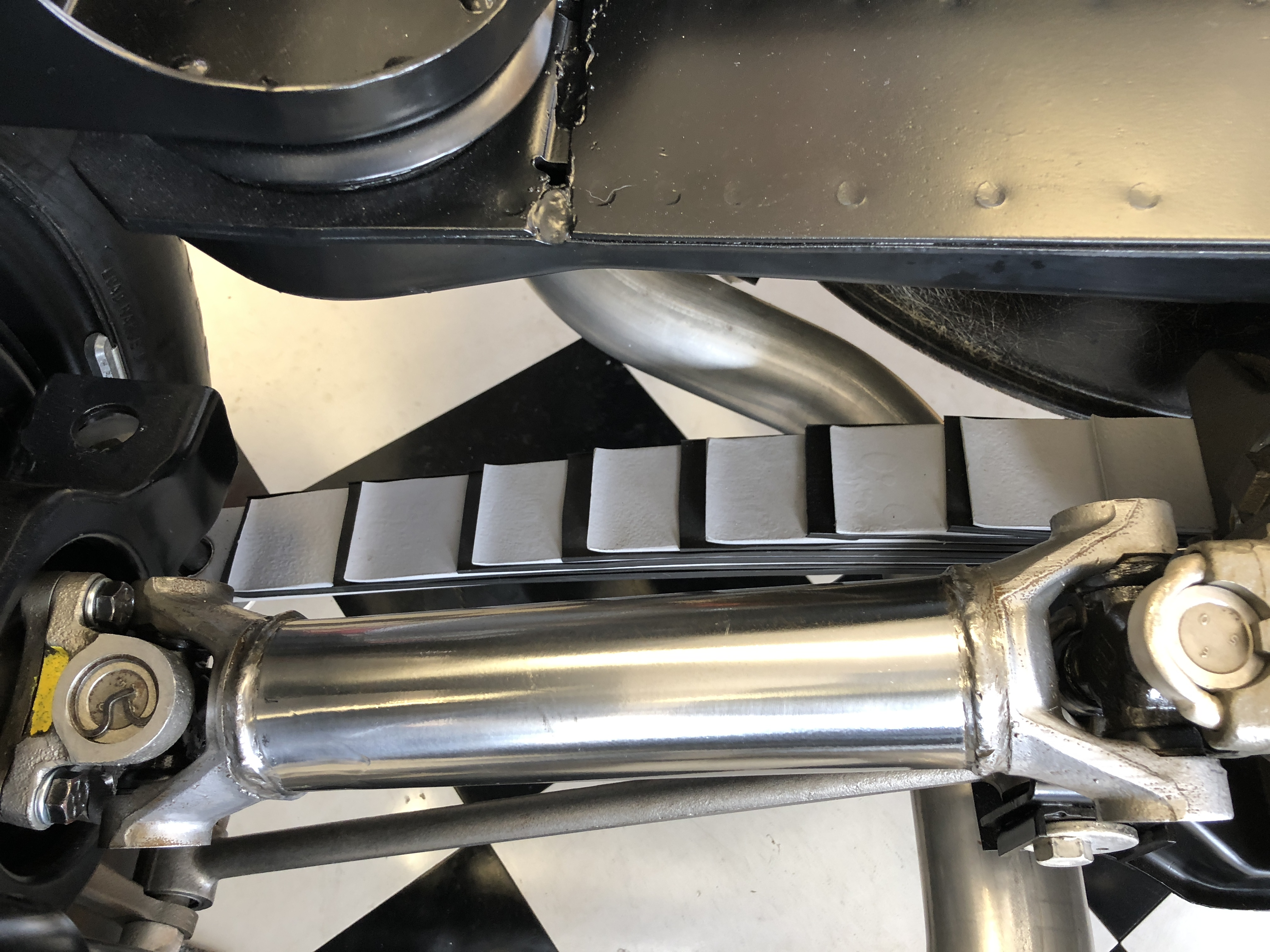Jeff and Bill's '63 - rear suspension