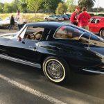 1963 Daytona Blue Corvette